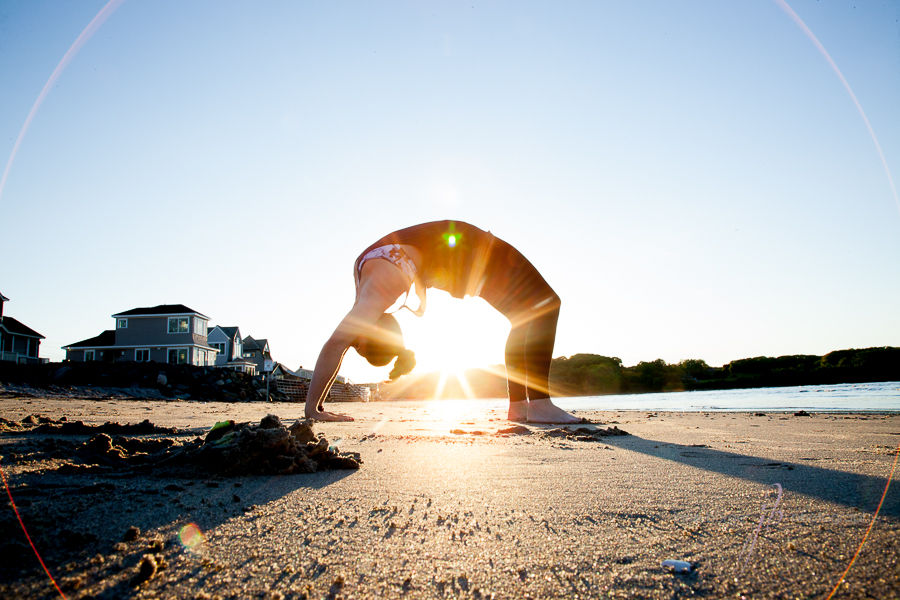 sunburst yoga