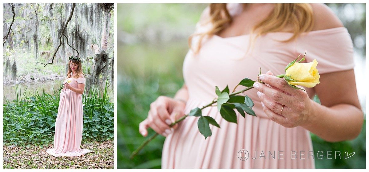 New Orleans maternity session