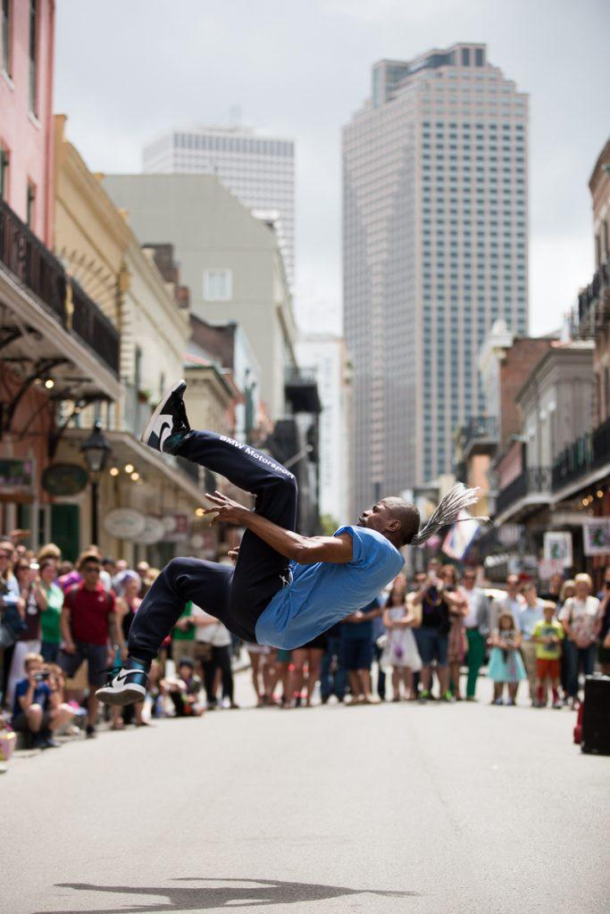 16/52 street performer, new orleans