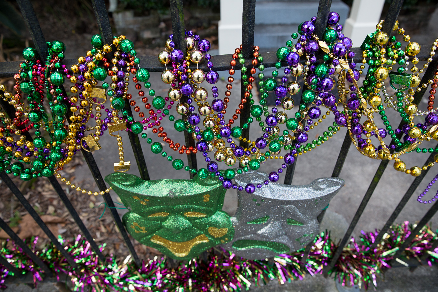 mardi gras beads new orleans