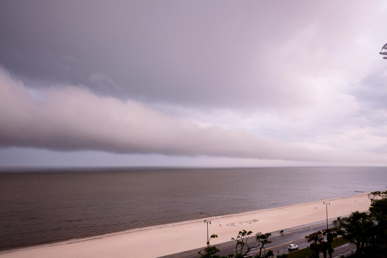 gulfport stormy skies